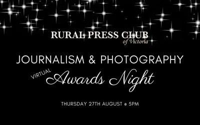Journalism & Photography Virtual Awards Night 2020