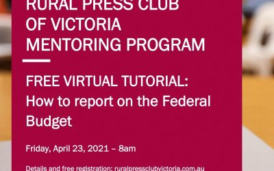 TUTORIAL: How to report on the Federal Budget