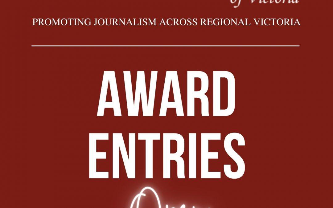 Media Release – 2021 Awards Entries Open