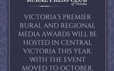 Regional Victoria to host rescheduled awards ceremony