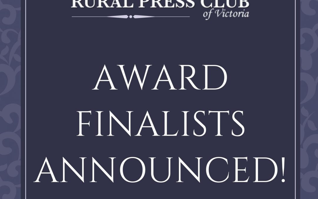 Awards Finalists Announced