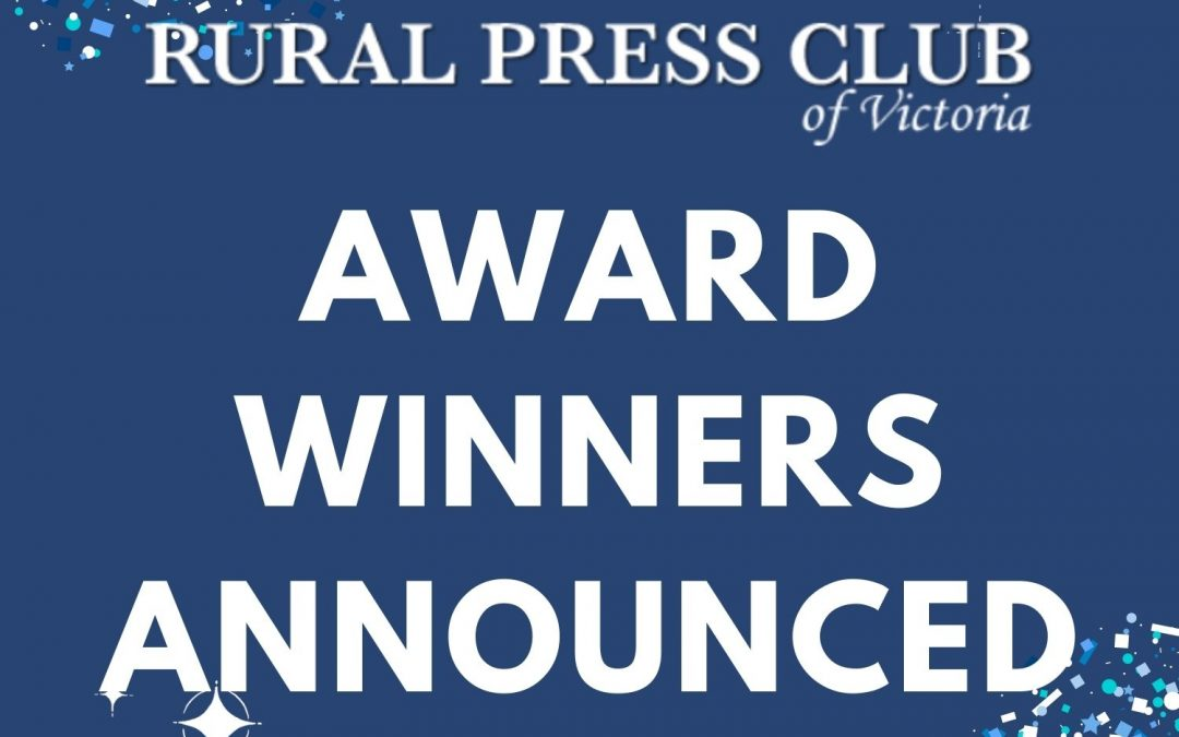 Award Winners Announced!